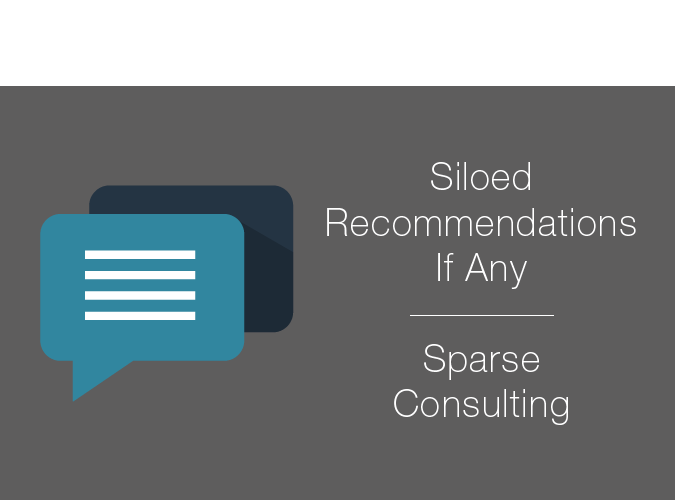 Other Companies only offer siloed recommendations if any
