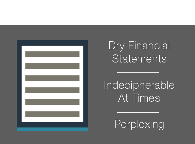 Other Companies have dry financial statements